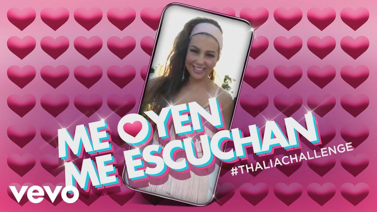 Listen: Thalía turns #ThaliaChallenge meme into 'Me Oyen, Me Escuchan' single