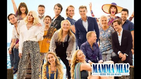 'Mamma Mia! Here We Go Again' home video is a sing-along edition with extended song performances