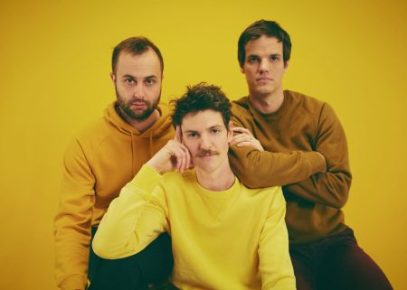 Houndmouth: Matt Myers (guitar & vocals), Zak Appleby (bass & vocals), Shane Cody (drums & vocals)