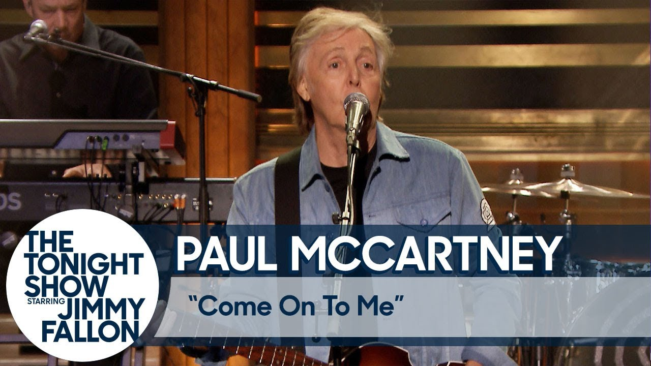 Watch: Paul McCartney perform single 'Come On to Me' on 'The Tonight Show'