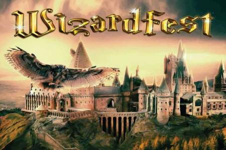 Wizard Fest banner