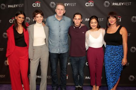 BEVERLY HILLS, CA - SEPTEMBER 6, 2018: Cast and creatives of Netflix's 'Atypical' arrive at The Paley Center for Media's 12th Annual PaleyFe