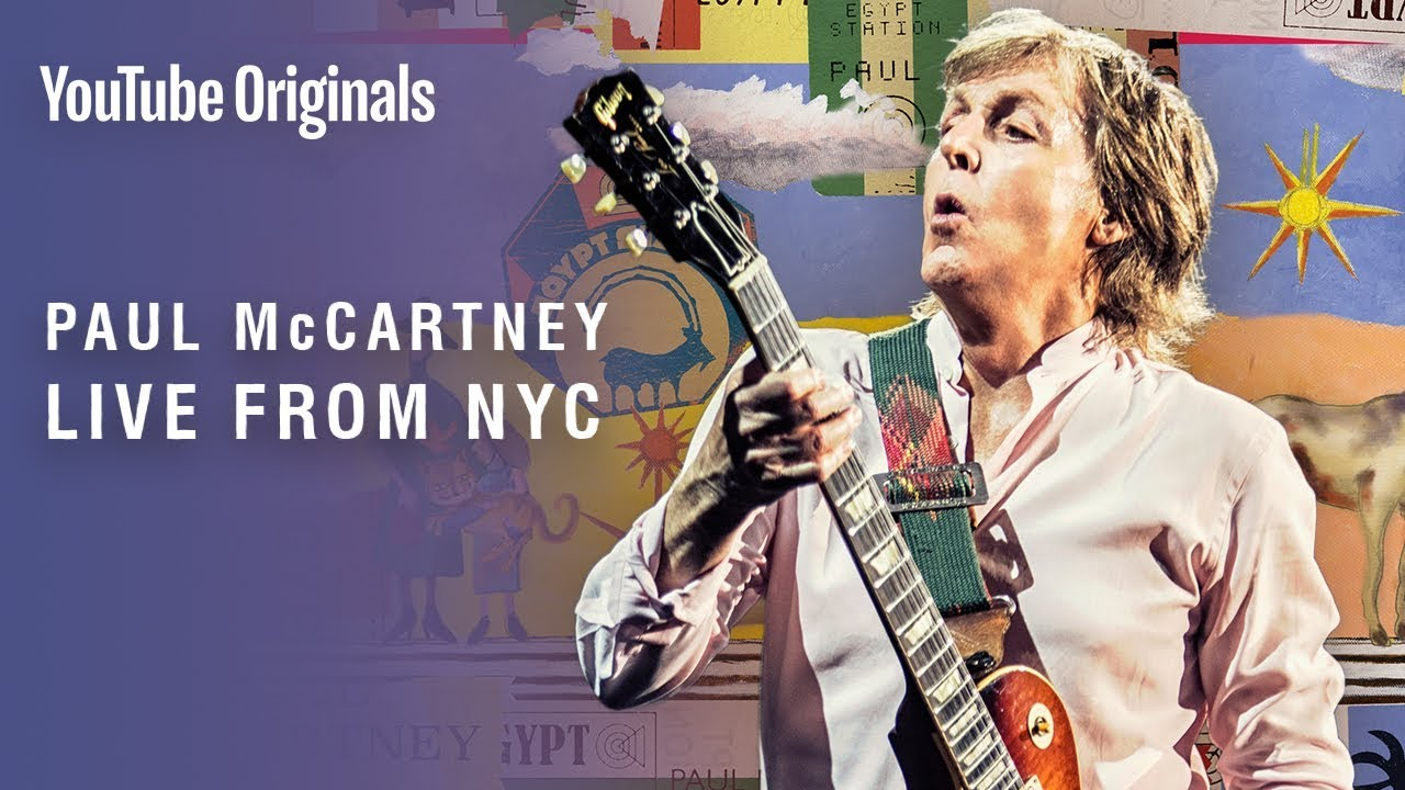 Watch: Paul McCartney plays invitation-only show at New York City's Grand Central Station
