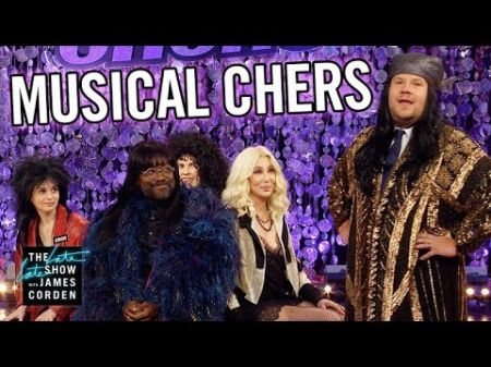 Watch: Cher joins James Corden in hilarious game of Musical Chers