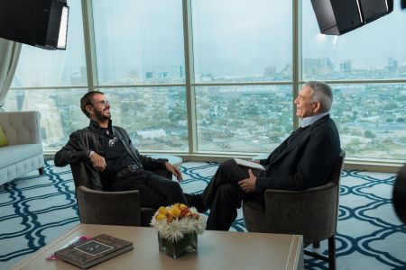 Watch: Ringo Starr joins Dan Rather for 'The Big Interview' 100th episode on AXS TV (sneak peek)