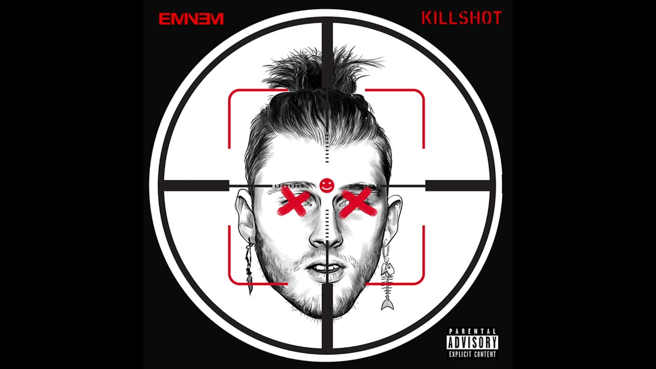 Listen: Eminem fires back at Machine Gun Kelly with 'KILLSHOT'