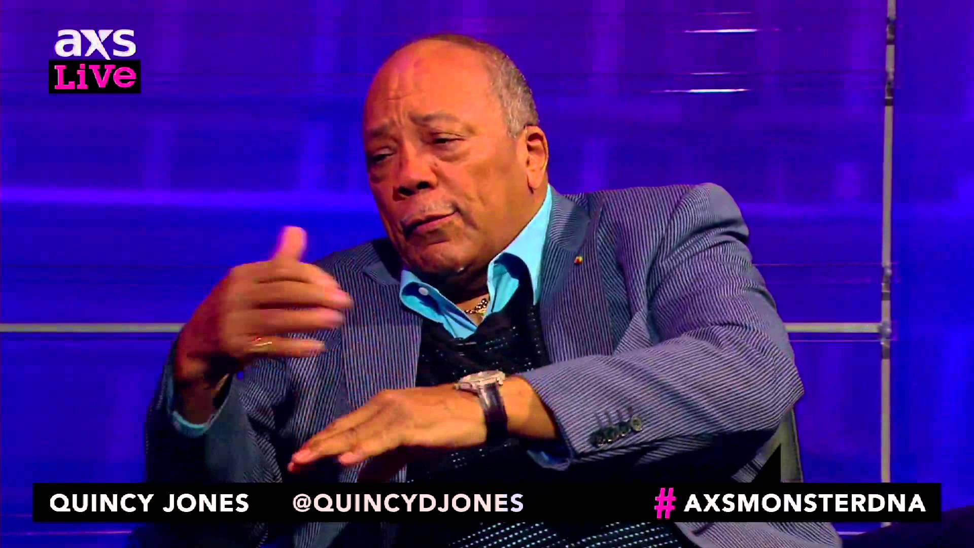 Quincy Jones U.S. tribute concert hosted by Oprah Winfrey; performances by Stevie Wonder, John Legend, Gladys Knight and more