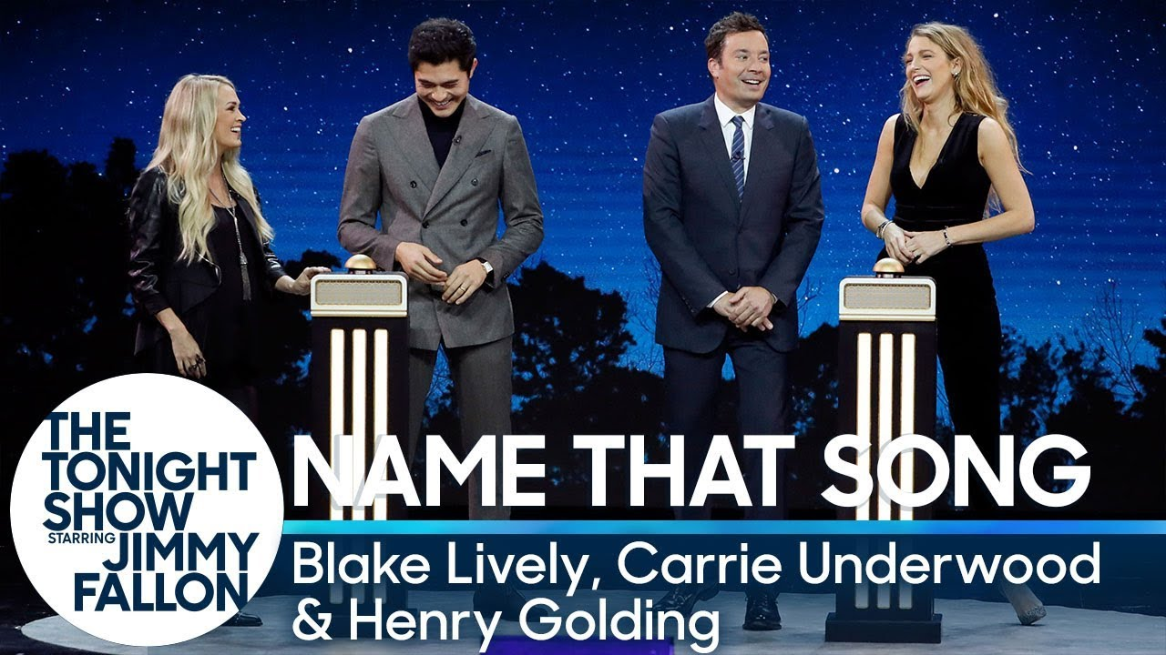 Watch: Carrie Underwood plays Name That Song with Blake Lively on 'The Tonight Show'