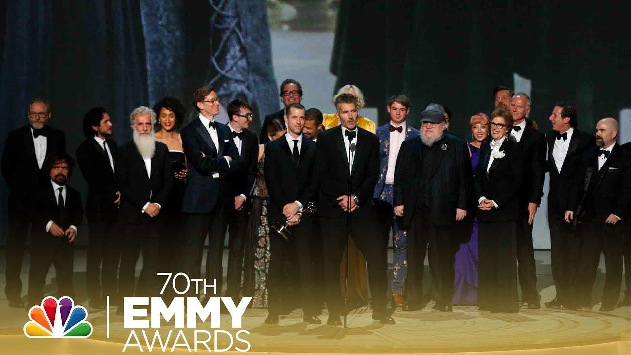Complete list of the 2018 Primetime Emmy Award winners