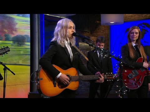 Watch: Phoebe Bridgers makes late-night debut performing 'Motion Sickness' on 'Conan'