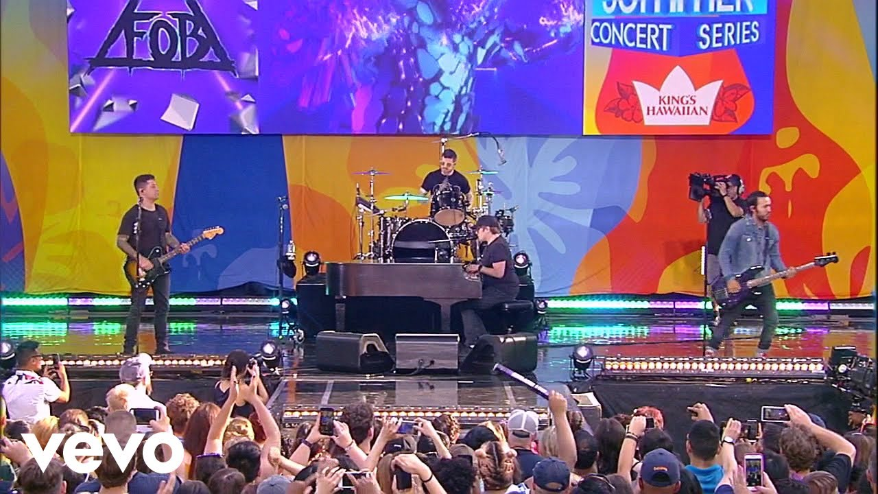 Fall Out Boy to live stream upcoming MGM Grand Garden Arena show
