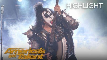 Watch: Kiss perform 'Detroit Rock City' on 'America's Got Talent' season finale