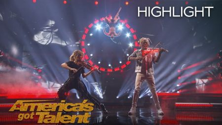 Watch: 'America's Got Talent': Lindsey Stirling performs with Brian King Joseph in finale