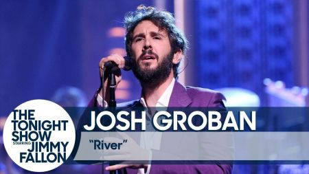 Watch: Josh Groban makes U.S. debut performance of 'River' on 'The Tonight Show'