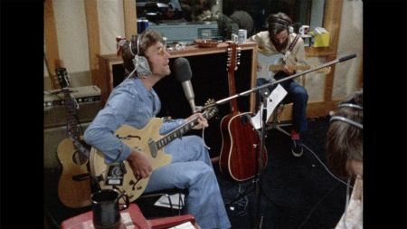 Watch: John Lennon & George Harrison record together in never-before-seen video