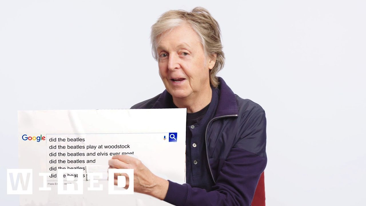 5 fun facts Paul McCartney reveals in his Google search Q & A