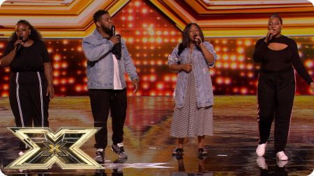 'The X Factor UK' auditions round 8: A girl, 2 guys and a Gospel group shine