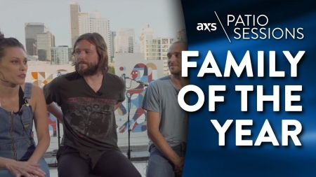 AXS Patio Sessions: Family of the Year talk making their most vulnerable album yet in 'Goodbye Sunshine, Hello Nighttime'
