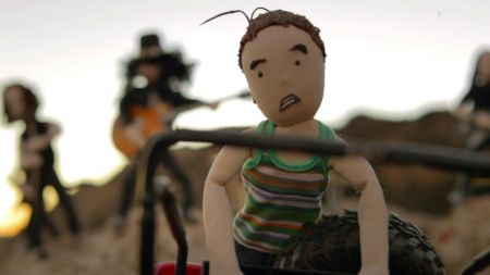 Watch: Slash and The Conspirators rock out as puppets in new music video for 'Driving Rain'
