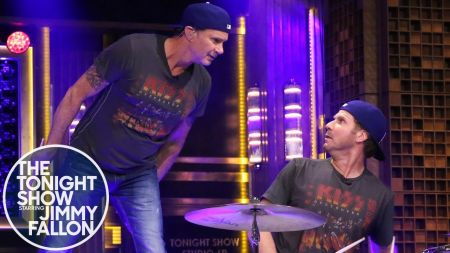 Will Ferrell, Chad Smith join forces for all-star charity event with Jerry Seinfeld, Coldplay's Chris Martin and more