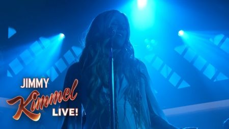 Watch: Avril Lavigne gives 'Head Above Water' live debut on 'Kimmel'