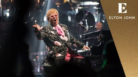 Watch: Elton John unveils highlights from current farewell tour of North America in HD