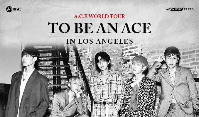 A.C.E. WORLD TOUR [TO BE AN ACE] IN LA  tickets at Fonda Theatre in Los Angeles