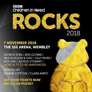 BBC Children in Need Rocks 2018
