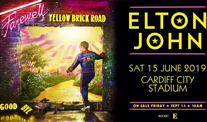 Elton John tickets at Cardiff City Stadium in Cardiff
