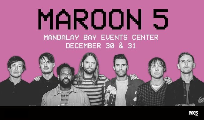 Maroon 5 red pill blues tour 2018 tickets in las vegas at mandalay maroon 5 red pill blues tour 2018 tickets at mandalay bay events center in las m4hsunfo