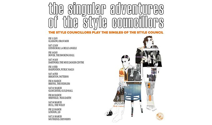 The Style Councillors tickets at Chinnerys in Southend-on-Sea