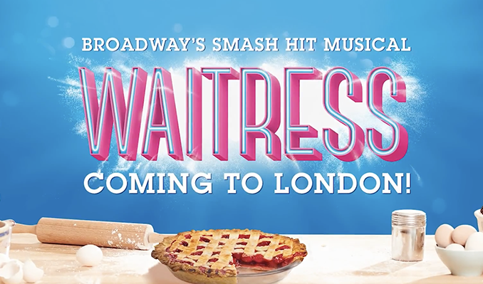 Waitress - Booking until 4 July 2020 tickets at Adelphi Theatre in London