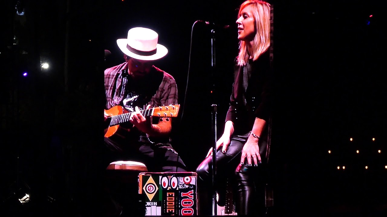 Watch: Eddie Vedder shreds with Liz Phair and Johnny Marr at Ohana Festival