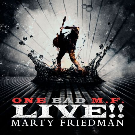 Interview: Guitar legend Marty Friedman discusses his new double-live album, 'One Bad M.F. LIVE!!'