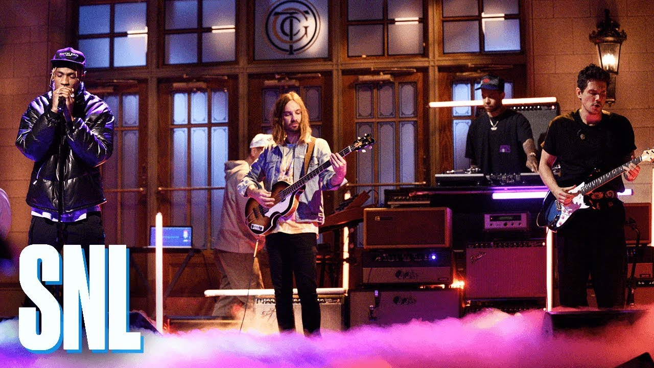 Watch: Travis Scott makes 'SNL' debut with help from John Mayer and Kevin Parker