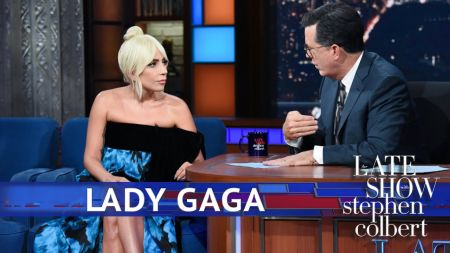 Watch: Lady Gaga talks Barbra Streisand and 'A Star is Born,' backs Christine Blasey Ford on 'Colbert'