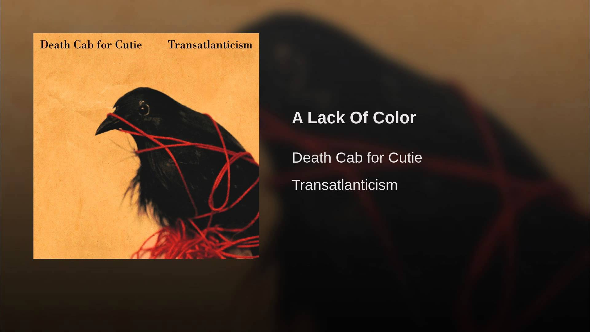 Death Cab For Cutie Performs Transatlanticism In Full On Album S
