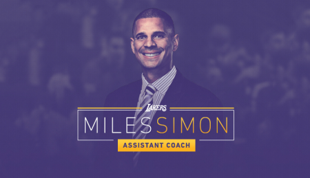 Miles Simon was added to Luke Walton's staff in 2017.