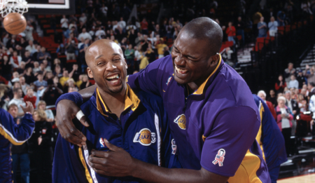 Brian Shaw enjoyed immense success with the Lakers during his playing days.