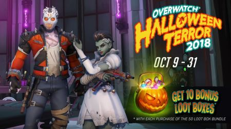 Overwatch Halloween Terror event now live