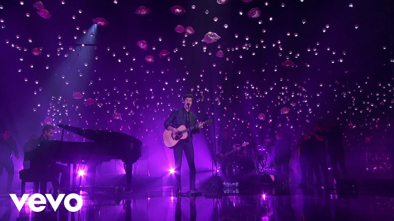 Shawn Mendes & Zedd join forces for 'Lost in Japan' performance at 2018 AMAs