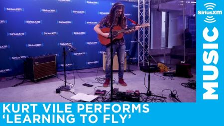 Watch: Kurt Vile covers Tom Petty's 'Learning To Fly' on SiriusXM