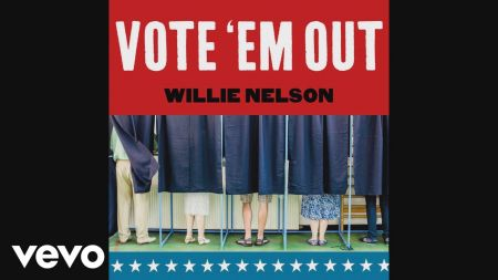 Willie Nelson shares politically-charged song, 'Vote 'Em Out'
