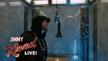 Watch: Eminem performs 'Venom' atop of the Empire State Building