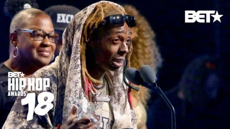 Lil Wayne honors detective who saved his life during BET Hip-Hop Awards speech