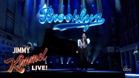 Watch: St. Vincent performs re-worked version of 'New York' on 'Jimmy Kimmel Live'