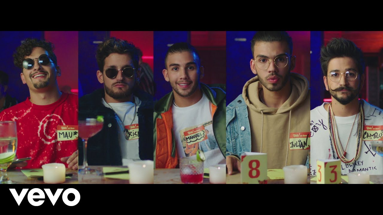 Watch: Mau y Ricky get familiar with Manuel Turizo & Camilo in 'Desconocidos' music video