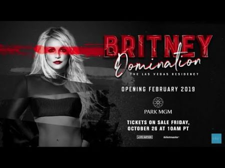 Britney Spears announces new Las Vegas residency 'Domination' at MGM Grand