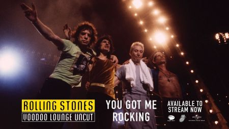 Watch: Rolling Stones perform 'You Got Me Rocking' from 'Voodoo Lounge Uncut'
