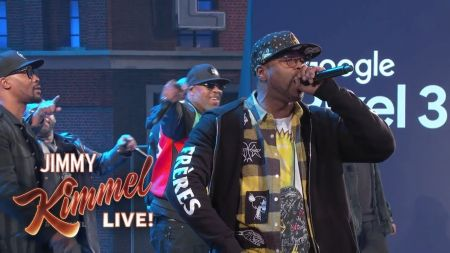 Watch: Wu-Tang Clan belt medley of hits on 'Jimmy Kimmel Live'